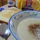 Maizena-- Puerto Rican Breakfast Custard.  I add a little vanilla to mine and no lumps please!