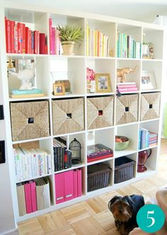diy-shelving-with-style-and-organization-tips-ideas-ikea-cube-shelving | @Mindy Burton CREATIVE JUICE | @getcreativejuice.com