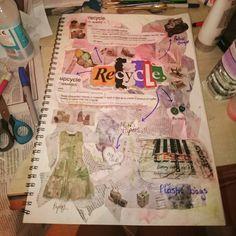 Ewwwe textiles homework, recycle mindmap Mind Map Examples, Textile Recycling, A Level Textiles, Map Projects, Fashion Design Sketchbook, Mind Maps, A Level Art, Gcse Art, Sketchbook Inspiration