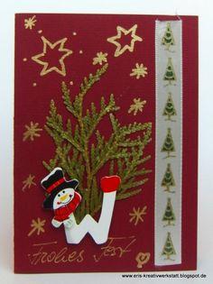 #Weihnachtskarten von lieben Freunden, Verwandten und Kollegen  http://eris-kreativwerkstatt.blogspot.de/2015/12/meine-weihnachtskarten-von-lieben.html  #stampinup #weihnachten #xmas #christmas #karte #teamstampingart