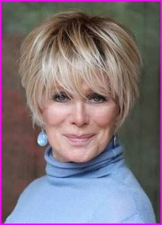 Very Stylish Short Haircuts for Women Over 50 - Hair - Hair Designs Stylish Short Haircuts, Latest Short Hairstyles, Haircuts For Fine Hair, Best Short Haircuts, Trendy Hairstyles, Pixie Haircuts, Hairstyle Short, Pixie Hairstyles, Over 60 Hairstyles