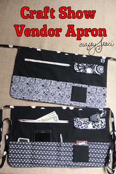Craft Show Vendor Apron from Crafty Staci