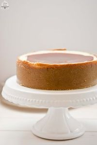 Cheesecake al caramello salato Chesee Cake, Torte Cake, Cake & Co, No Bake Cake, Cheesecake Recipes, Dessert Recipes, Desserts, Cakes Without Fondant, American Cheesecake