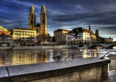 Grossmünster jigsaw puzzle in Street View puzzles on TheJigsawPuzzles.com