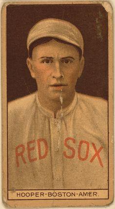 Harry Hooper, Boston Red Sox, baseball card portrait - 1912