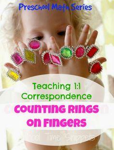 Teaching 1:1 with Rings- FUN!