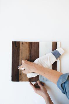 marble + wood cheese board tray | DIY by coco+kelley