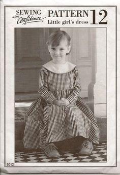 1930s style girls dress