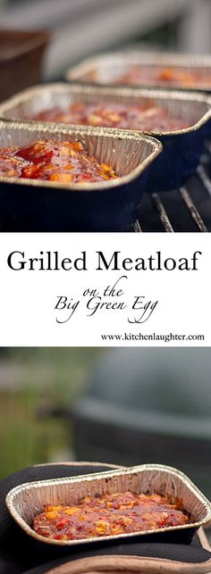 Grilled Meatloaf on the Big Green Egg. Stop the presses! This meatloaf will knock your socks off! Sweet, tender and juicy! This isn't your mama's old meatloaf! How To Cook Meatloaf, Meatloaf Recipes, Beef Recipes, Mexican Food Recipes, Grilled Meatloaf, Grilled Beef, Big Green Egg Grill, Grilling Recipes, Vegetarian Grilling