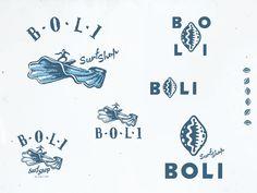 Boli Surf by Stevan Rodic Malibu Surf, Surf Logo, Logo Branding, Logos, Surf Brands, Surf Design, Logo Inspiration, Surfing, Illustration