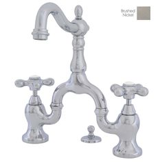 KRD Elliston Centerset Bathroom Sink Faucet Single Handle - Bathroom faucet 8 inch center single handle