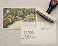 Vintage DIY Save the Dates