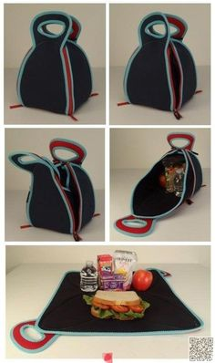 3. Turn It into a #Placemat - 38 Lunch Bags That You and Your #Kids… #Reliable