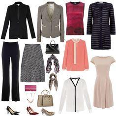 Creating an executive business wear capsule wardrobe