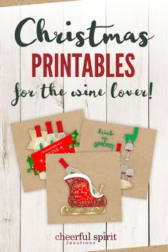 Christmas Printables for the Wine Lover including SVG files, JPG files, and PDFs. Create your own holiday wall art. Print, add a little glitter, and frame to create fun and festive decor that matches your own style. Frugal Christmas, Christmas Arts And Crafts, Christmas Books, Christmas Svg, Christmas Printables, Holiday Fun, Christmas Time, Christmas Decorations, Christmas Ideas