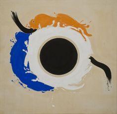 Kenneth Noland, Teeter, 1960.  Art Experience NYC  www.artexperiencenyc.com