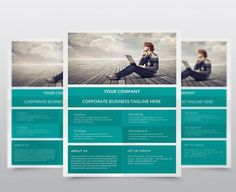 Corporate Flyer Design. Flyer Templates. $5.00