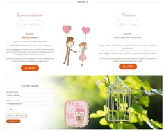Invitatie Online - tema La picnic Save the date Online - Wedding Invitation, Theme Picnic