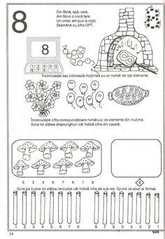 pregatirea pentru scoala a copilului prescolar -matematica - Kiss Virág - Picasa Web Albums Preschool Worksheets, Preschool Activities, Math Numbers, Pre School, Mathematics, Kindergarten, Bullet Journal, Album, Learning