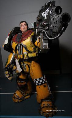 Amazing Warhammer 40K costume