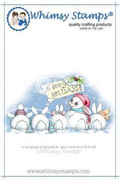 *NEW Christmas Bunny Row