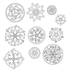 Mandala Embroidery Patterns 2