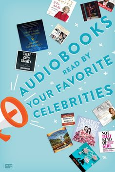 59 Audiobooks Read By Your Favorite Celebrities Listen to your favorite stars tell their own stories. Meredith Baxter, Rob Delaney, Donald Fagen, Garry Marshall, Celebrities Reading, Ben Folds, Randy Jackson, Tracy Morgan, Recurring Dreams