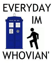 Whovian' all day er day