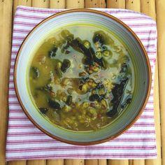 Lentil, Barley, and Kale Soup (Meatless Monday)
