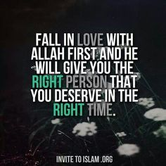 Fall in LOVE with Allah. *I invite you to Islam. Imam Ali Quotes, Allah Quotes, Quran Quotes, Me Quotes, Qoutes, Best Islamic Quotes, Islamic Inspirational Quotes, Muslim Quotes, Love In Islam