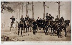 Emil Hünten - postkarte-Bismarck-Napoleon