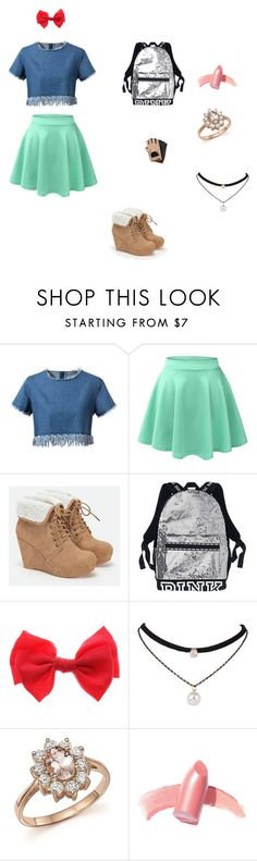 """feito pra mim"" by barbarahorandemi ❤ liked on Polyvore featuring beauty, Chicnova Fashion, LE3NO, JustFab, claire's, Chanel, Bloomingdale's and Elizabeth Arden"