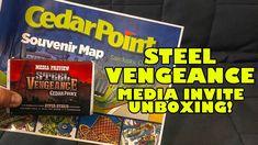 Steel Vengeance Media Invite Unboxing! Cedar Point's New for 2018 Roller...