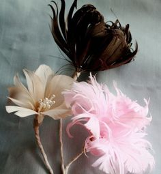 How to Make Feather Flowers 3FeatherFlowers por jewelboxballerina
