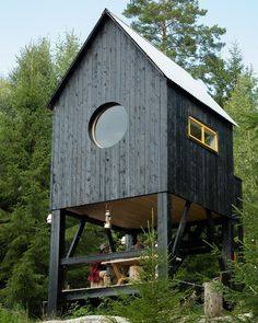 tiny house tower--would use steel siding