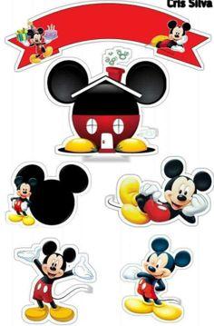 Arte Do Mickey Mouse, Bolo Mickey, Mickey Mouse Tattoos, Disney Tattoos, Theme Mickey, Mickey Party, Mickey Mouse Birthday, Minnie Mouse Party, Baby Name Tattoos
