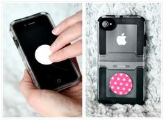 Super cute reusable Microfiber Sticky Screen Cleaners Only $5!