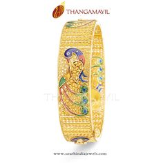 Gold Bangle for Marriage, Gold Bridal Bangle Designs, Gold Bangle Designs for Weddings, Broad Gold Bangles for Marriage. South Indian Jewellery, Indian Jewellery Design, Designer Jewellery, Jewellery Designs, Gold Jewellery, Mode Turban, Living Room Sofa Design, Gold Bangles Design, Bridal Bangles