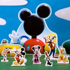 Decoração de mesa A Casa do Mickey