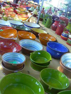 Pottery: the Carpentras marché