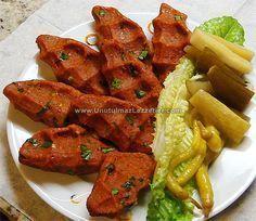 Etsiz Çiğ Köfte (Patatesli) Tandoori Chicken, Pasta, Meat, Vegetables, Ethnic Recipes, Food, Beef, Meal, Essen