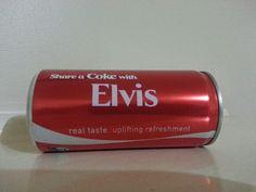 Elvis Coke Can