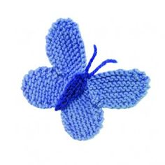FREE Knitted Butterfly - Knitting Pattern