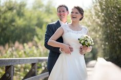 Happy together by JohannesSchuller Happy Together, Wedding Portraits, One Shoulder Wedding Dress, Wedding Dresses, Inspiration, Fashion, Marriage Anniversary, Pictures, Sun