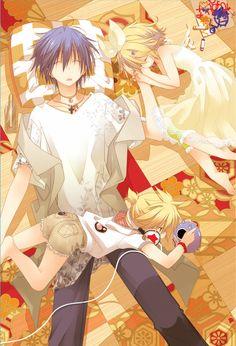 Kaito, Rin & Len (Vocaloid)