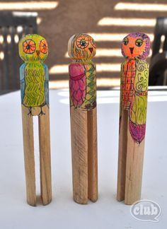 Owl Clothespin Buddy Craft DIY | Tween Crafts - Connecting Mom and Daughter through crafting