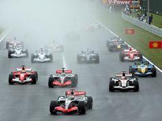 De grand prix van Hongarije op de Hungaroring