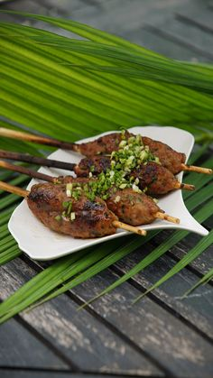 Grilled chicken meatballs on a stick will transport your taste buds to the streets of Japan.