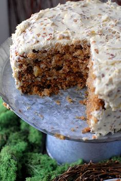 Hummingbird Cake: cross between carrot cake and banana bread...my grandma always made the best!