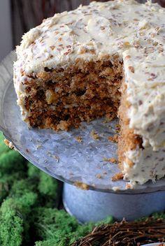 Hummingbird Cake: cross between carrot cake and banana bread...my grandma always made the best!